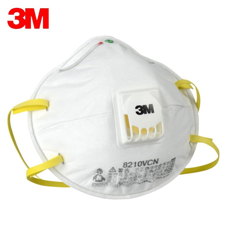 3M 8210 Safety Protective Mask 20PCS/Box Dust Masks Anti-particles Anti-pm2.5 N95 Masks Working respirator Mask X0101010