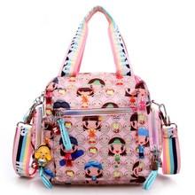 Neuheiten Kipled Harajuku Puppe wasserdichte nylon handtasche damen tasche eine schulter kreuzkörper beutel Handtaschen mom