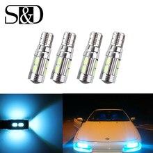 4 X T10 W5W LED Bulbs 10SMD CANBUS OBC Error Free LED Lamp 501 dash Car LED bulbs interior Auto Lamp parking Light 12V D45