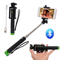 Foldable Wireless Bluetooth Self-timer Remote Shutter Monopod for iOS/Andriod Phones