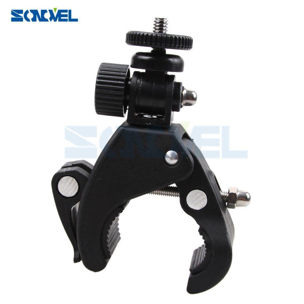 Câmera super braçadeira tripé para a exploração do monitor lcd/dslr câmera/dv/bicicleta gopro 6/5//4/3 telefone móvel