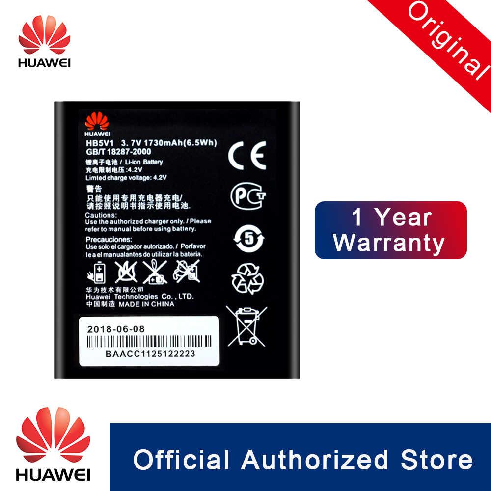 هواوي 100% الأصلي HB5V1 البطارية لهواوي Y300 Y300C Y511 Y500 T8833 U8833 G350 Y535C Y516 استبدال Batteria 1730 mAh