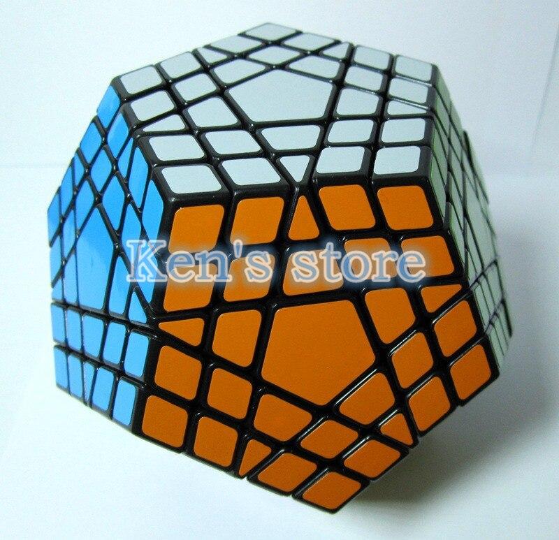 2017 Novi Shengshou SHS Gigaminx Puzzle Cube Stručni 5x5x5 PVC i Mat - Igre i zagonetke - Foto 4