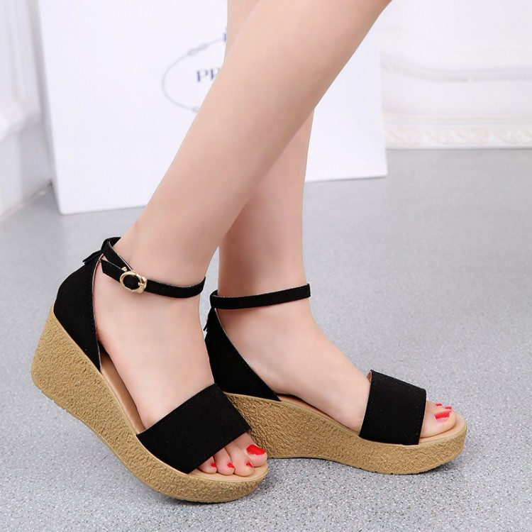 5592090b6 2015 shoes Summer Sexy Beautiful Trifle Women Sandals Bohemian Muffin Slope  with female drag Sandals flat free shipping-in Women's Sandals from Shoes on  ...
