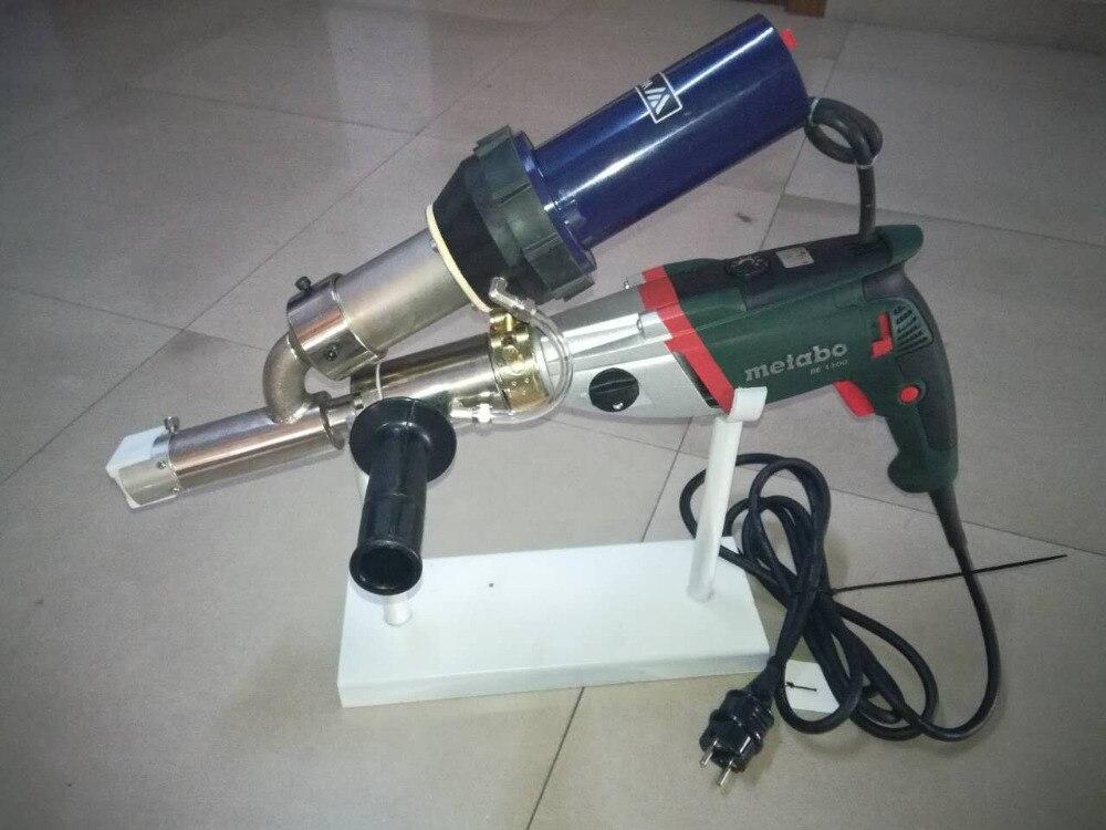 LST601B Plastic extruding welding Practical Handheld Plastic extrusion Welding machine fit with WELDY heat gun