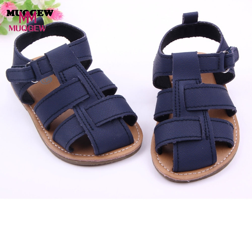 2016 New Hot Baby Boys Sandals Toddler Scrub Kid Shoes Drop Shipping