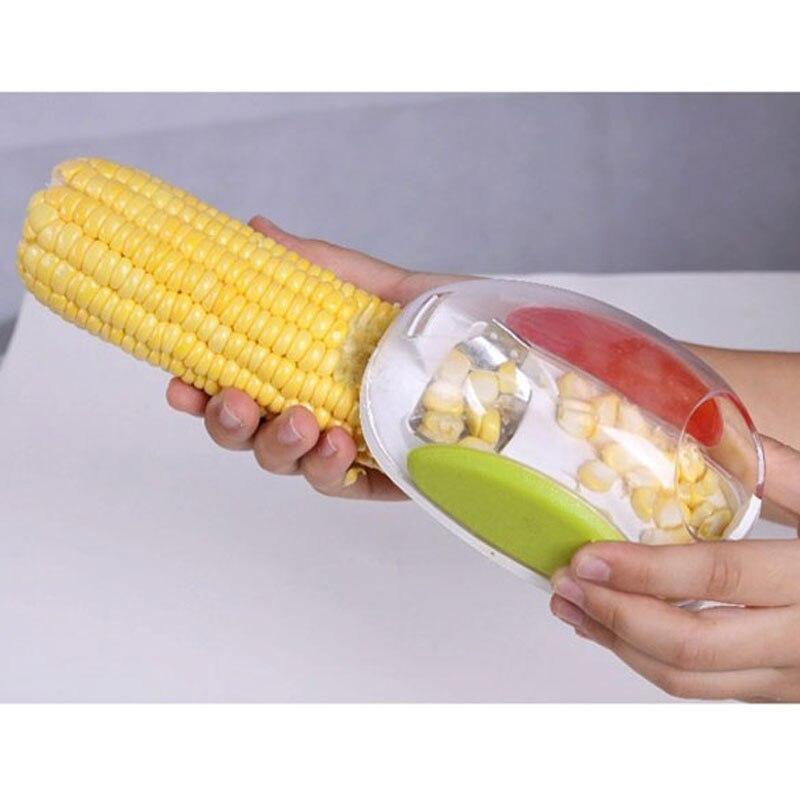 Кукурузы зачистки обмолота зачистки Kerneler с peel молотилка Кухня инструмент удара Remover кукурузного зерна сепаратор для зачистки мозолей овоще... ...