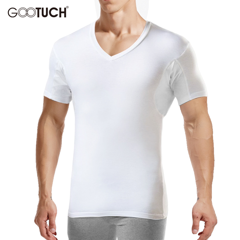 Men Undershirts Underwear Absorb Sweat Man Elastic T Shirts Male V Neck Short Sleeves Top Sleepwear Plus Size Undershirt 5359