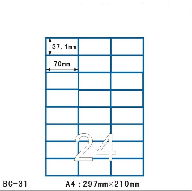 sticker sizes for printing