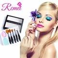 5 unids Maquillaje sistema de Cepillo Oval cepillo de Dientes Cepillo de Polvo Soplo de La Esponja huevo Fundación Blush Brush Maquillaje Clean Herramienta Pincel Kit cosméticos