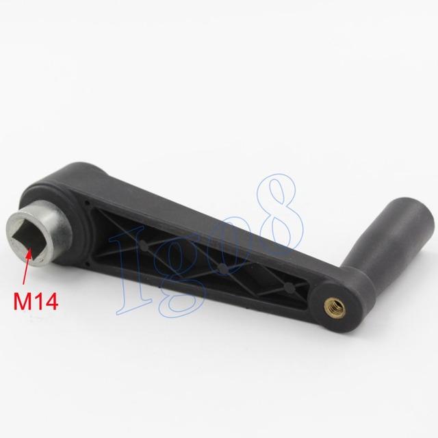 M14 Máquinas de Plástico Alça Ajustável Lever Praça