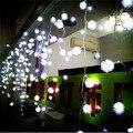 Novo Ano de 4x0.65 M LED String Luzes De Fadas Cristmas Guirlanda Decoração LED das Luzes de Natal Ao Ar Livre Luzes De Natal Navidad