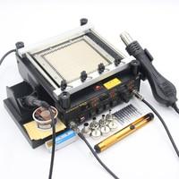 GORDAK 863 BGA Soldering Stations Electric Iron Heating Table Hot Air Heat Gun Welding Tools Nozzle