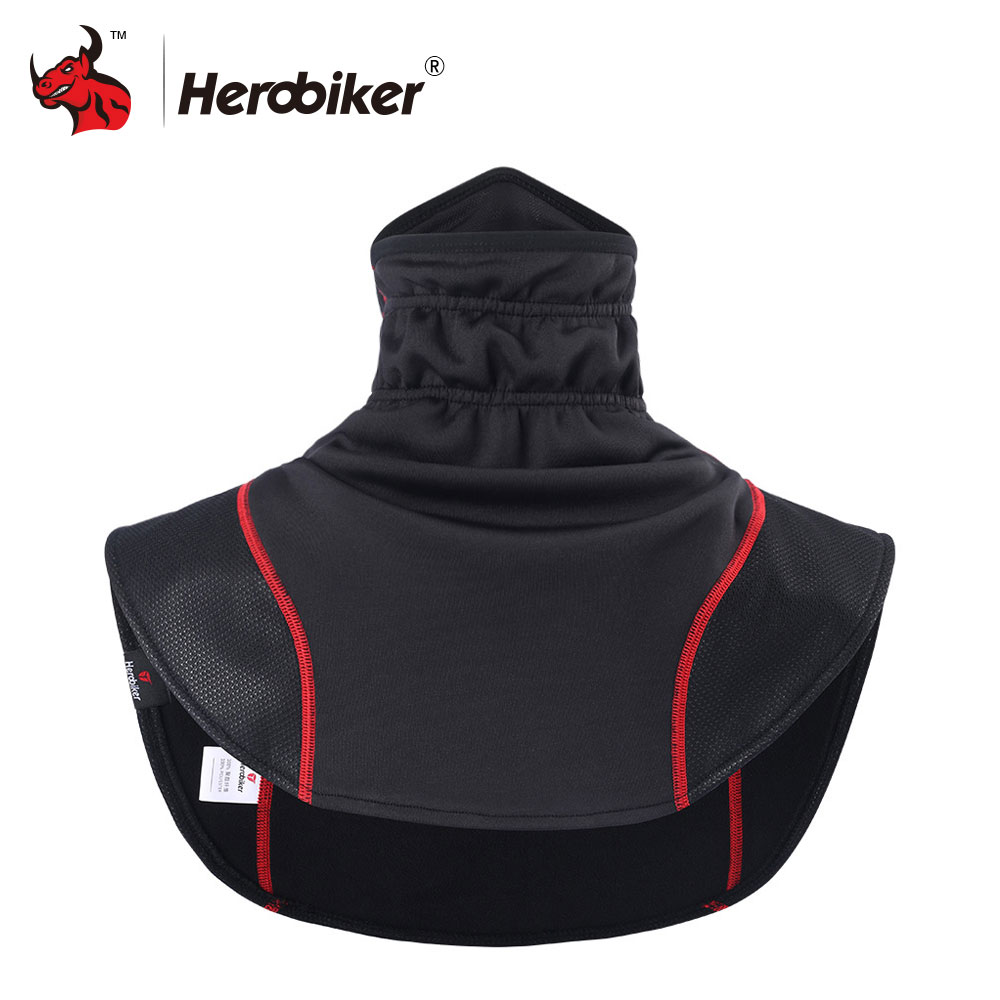 HEROBIKER Windproof Motorcycle Face Mask Moto Thermal Balaclavas Scarf Motorcycle Headwear Neck Fleece Caps Scarf Balaclava full face lycra protection balaclava headwear neck cycling motorcycle mask