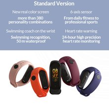 Newest 2019 Original Xiaomi Mi Band 4 Smart Bracelet 0.95inch AMOLED Color Screen 50M Waterproof 6-sport modes