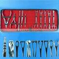 Top 10 pcs de aço inoxidável Kits Body Piercing ferramenta para orelha umbigo Nose abastecimento frete grátis