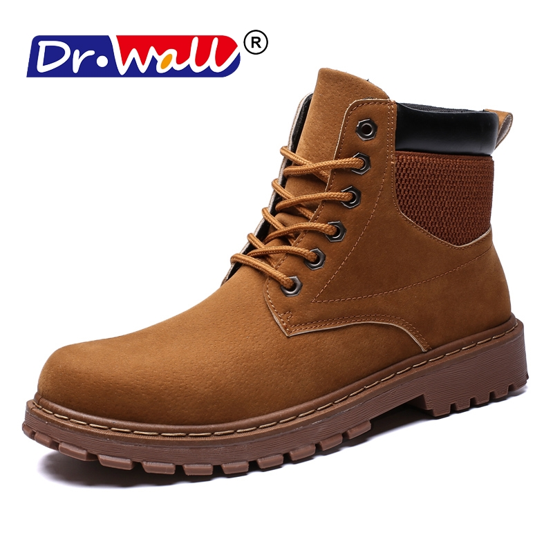 Winter Leather Men Ankle Boots Breathable Men Leather Boots High Top Shoes Outdoor Casual Men Winter Shoes Botas Homme buvazik ankle boots men wew autumn pointed toe mens boots leather breathable high top shoes outdoor casual men botas hombre