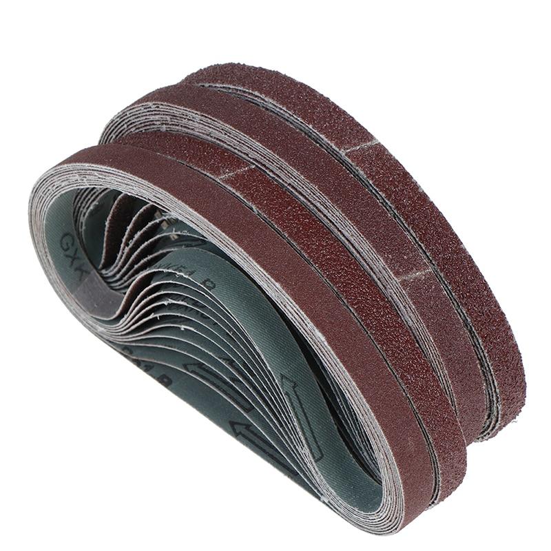10pcs/Lot Angle Grinder Machine Polishing Replacement Sanding Belt Paper 452*15mm