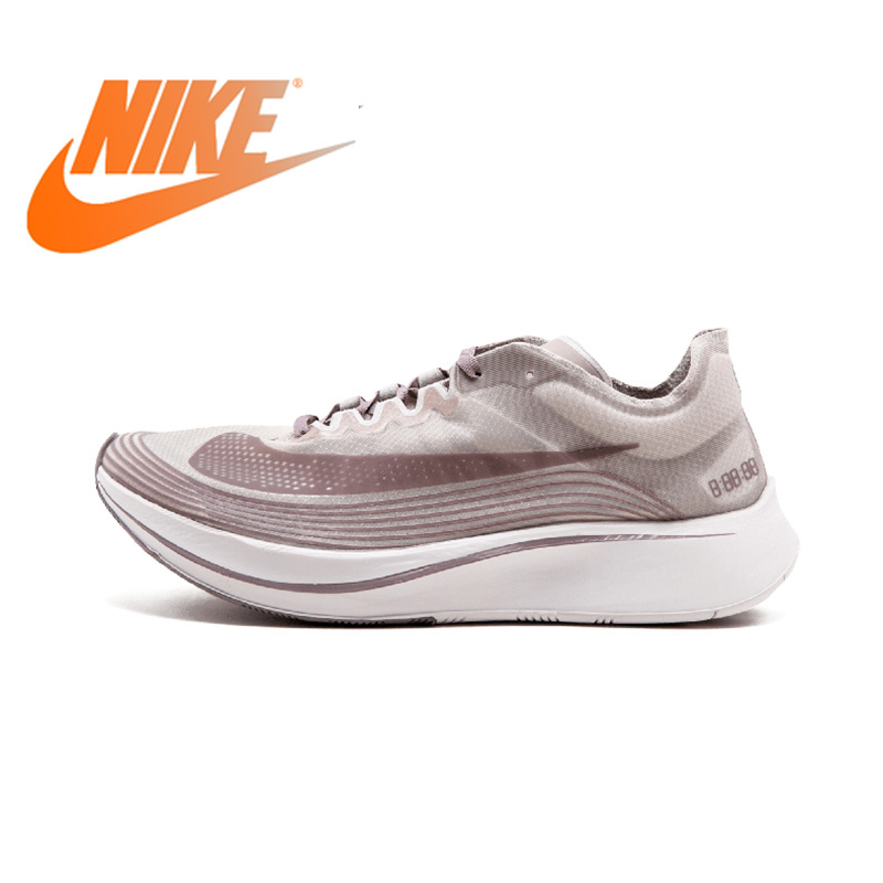 Original Authentic Nike Lab Zoom Fly SP 4% Men's Running Shoes Sport Outdoor Sneakers Low Top Designer Breathable AA3172-200