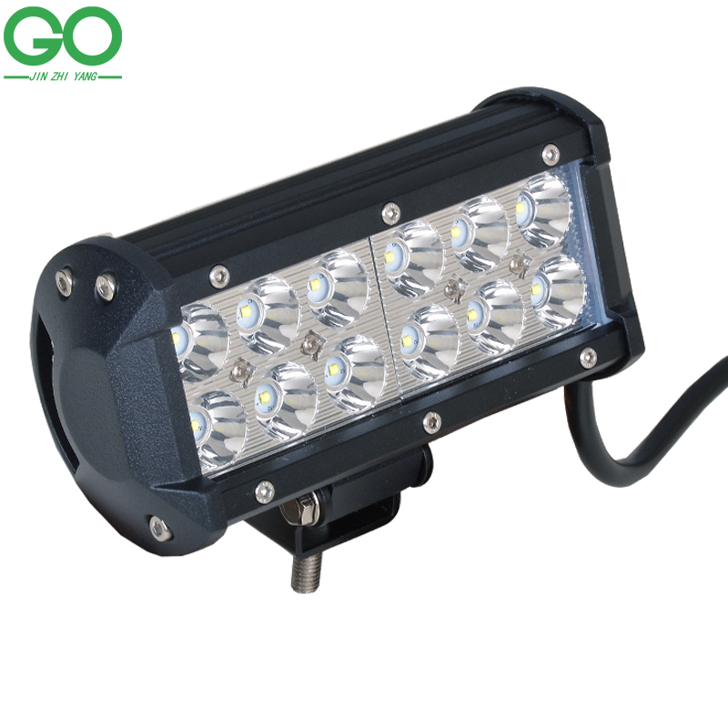36W Cree LED Work Light Bar for Indicators Motorcycle Driving Offroad Boat Car Tractor Truck 12V 24V Auto Inspection Lamps