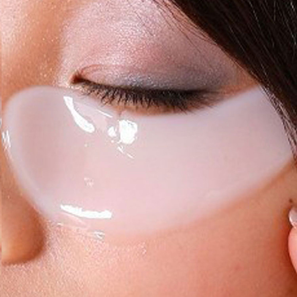 [40pcs/lot] Deck Out Women Crystal Eyelid Patch Anti-Wrinkle Crystal Collagen Eye Mask Remove Black Eye Face care 2