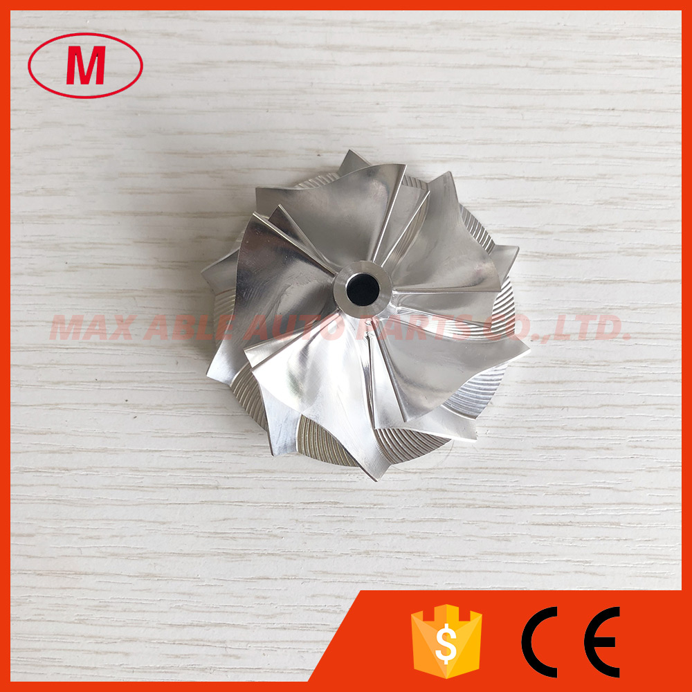 K04 46 00 60 00mm 5 5 blades high performance Turbo Billet milling aluminum 2618 compressor
