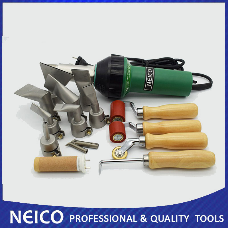 Free Shipping High Quality Single Ply Roofing Welding Kits Of 230V Or 110V 1600W NEICO Plastic