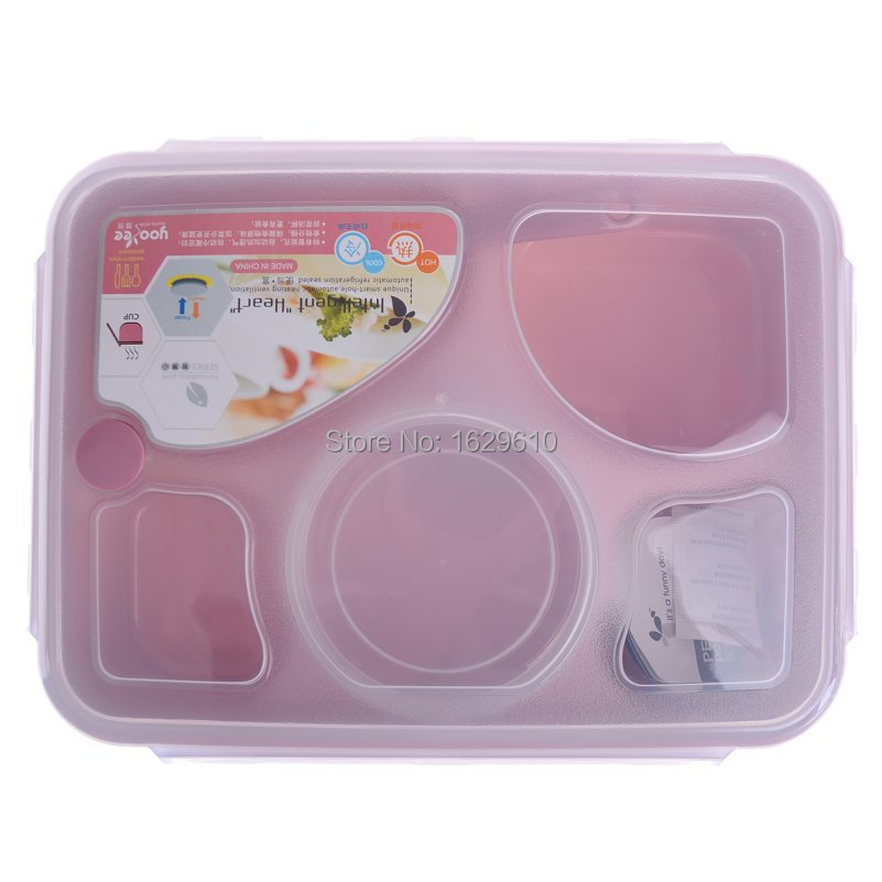 Bento Lunch Box Bowl Microwave Plastic Soup Mug Tureen Bowls For Food Tableware Dinnerware Set Kitchen Cooking Tools Whole