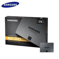 SAMSUNG SSD 860 QVO высокая скорость 1 ТБ 2 ТБ 4 ТБ Внутренний твердотельный диск HDD жесткий диск SATA 3 2,5 для ноутбука Настольный SSD диск