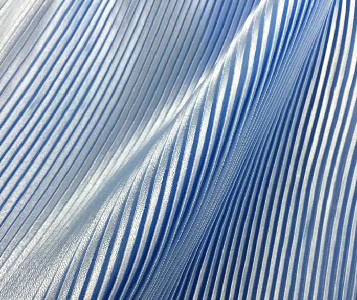 6 meters 150cm 59.05 width gray crumple accordion pleated faux silk satin fabric for dress skirt MM314  shipped by DHL