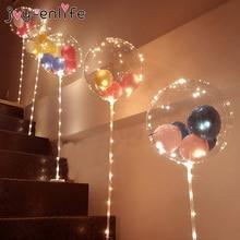 1 Набор воздушных шаров колонна-подставка стенд Арка домашние вечерние светодиодный конфетти воздушные шары с базовыми зажимами Свадебные украшения держатель для шарика палка
