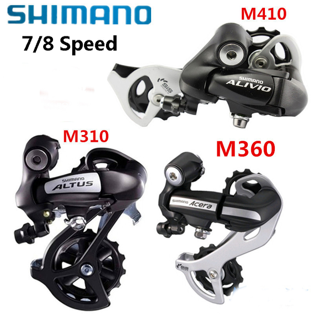 US $23 51 |SHIMANO Bicycle Derailleur Bike Parts RD M280 M310 M360 M410  bicycle bike Riding Cycling MTB 8/24speed Bike Rear Derailleur-in Bicycle
