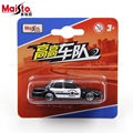MaiSto police car 1:64 Alloy car model toys for children Pocket car Children like the gift