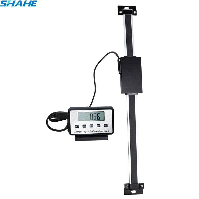 600 milímetros Mesa linear Escala de Leitura Digital Remoto Monitor Externo Ferramenta de Medição para Bridgeport Moinho Torno