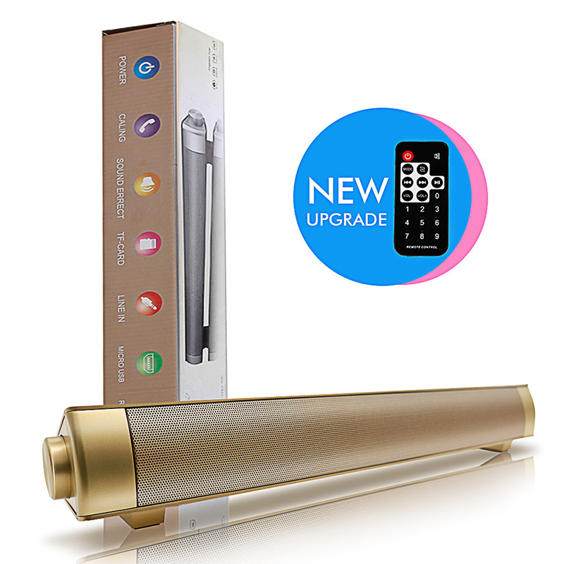 PC Subwoofer Soundbar-Receiver Bluetooth-Speaker Stereo Super-Bass Wireless 10W NEW Ip-08