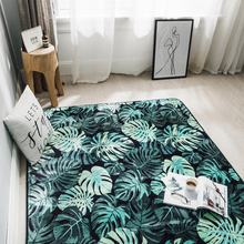 Modern Blue Geometry Black White Marble Golden Carpets For Bedroom Home Living Room 10 Kinds Sizes Chair Mat