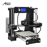 Anet Large Printing Size A6 3D Printer Precision Three Dimensional Reprap Prusa I3 3D Printer Kit