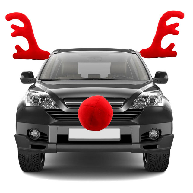 Aliexpress.com : Buy Christmas Car Decoration Toy Windows ...