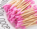 8302CZM бамбуковые ватные палочки ватные тампоны для медицинской чистки ушей деревянные палочки для макияжа инструменты для здоровья тампоны ...