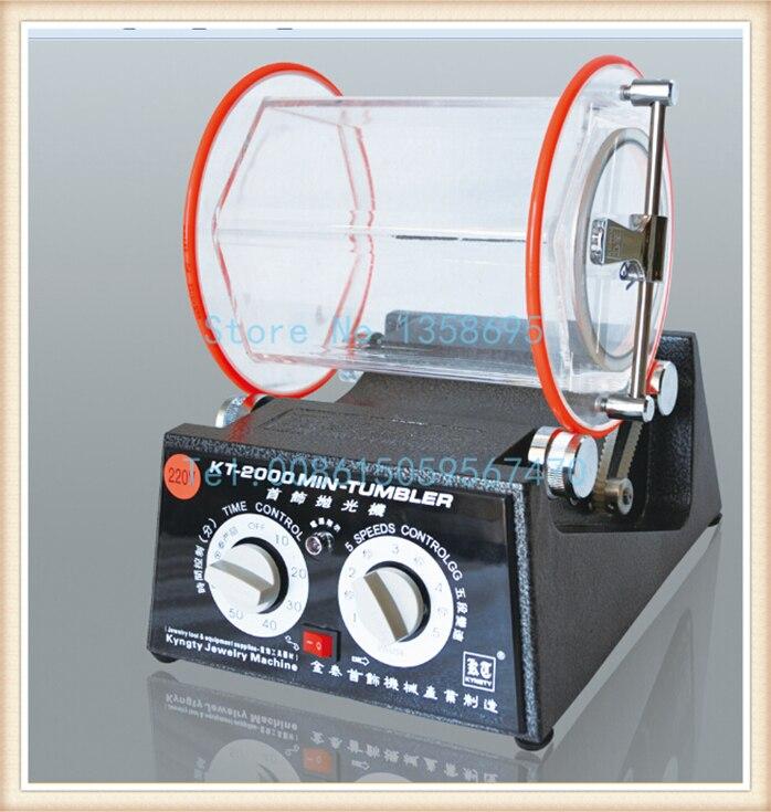 2014 new Jewelry rotary polisher, New Rotary Tumbler with Capacity 5kg, drum polishing machines jewelry, цена