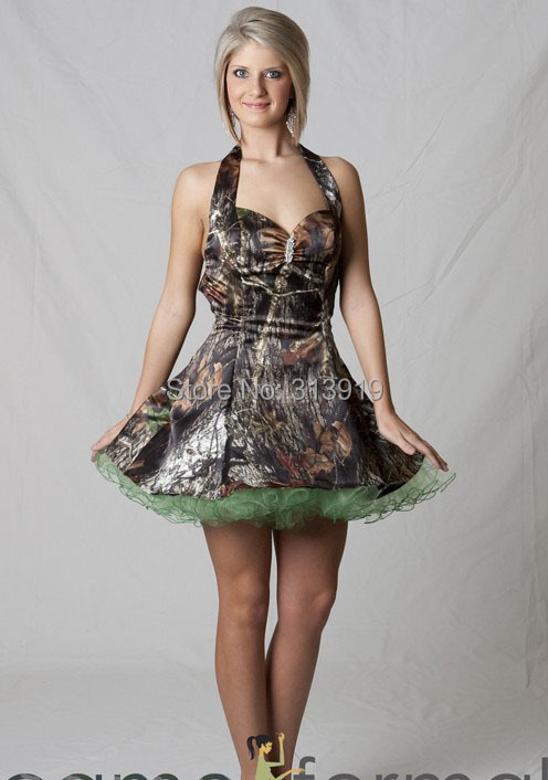 Popular Short Camo Prom Dresses-Buy Cheap Short Camo Prom Dresses ...