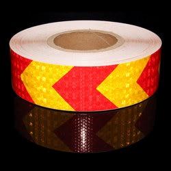 Warna Pita Reflektif Stiker dengan Bintang Berkilau 5 Cm X 50M Cerah Reflektor Reflektif Stiker Aksesoris Sepeda untuk Sepeda