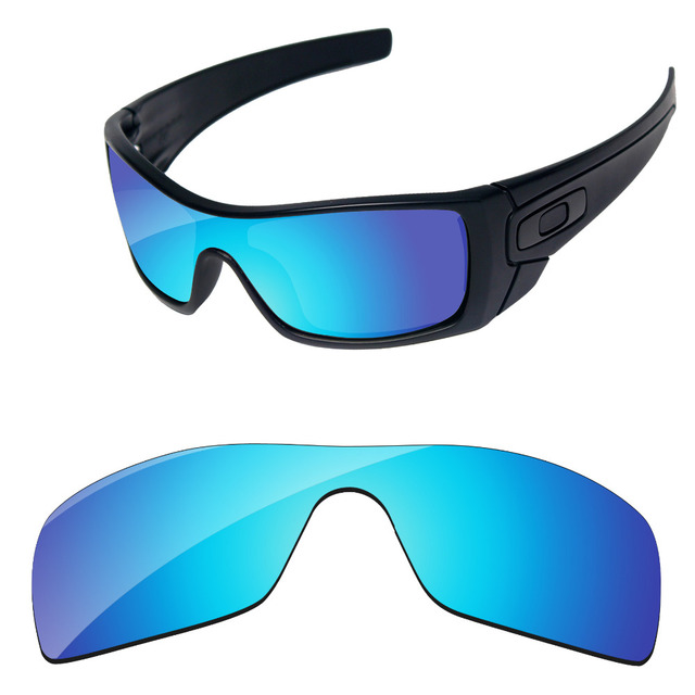 fd06a26c93c Polycarbonate-Ice Blue Mirror Replacement Lenses For Batwolf Sunglasses  Frame 100% UVA   UVB Protection