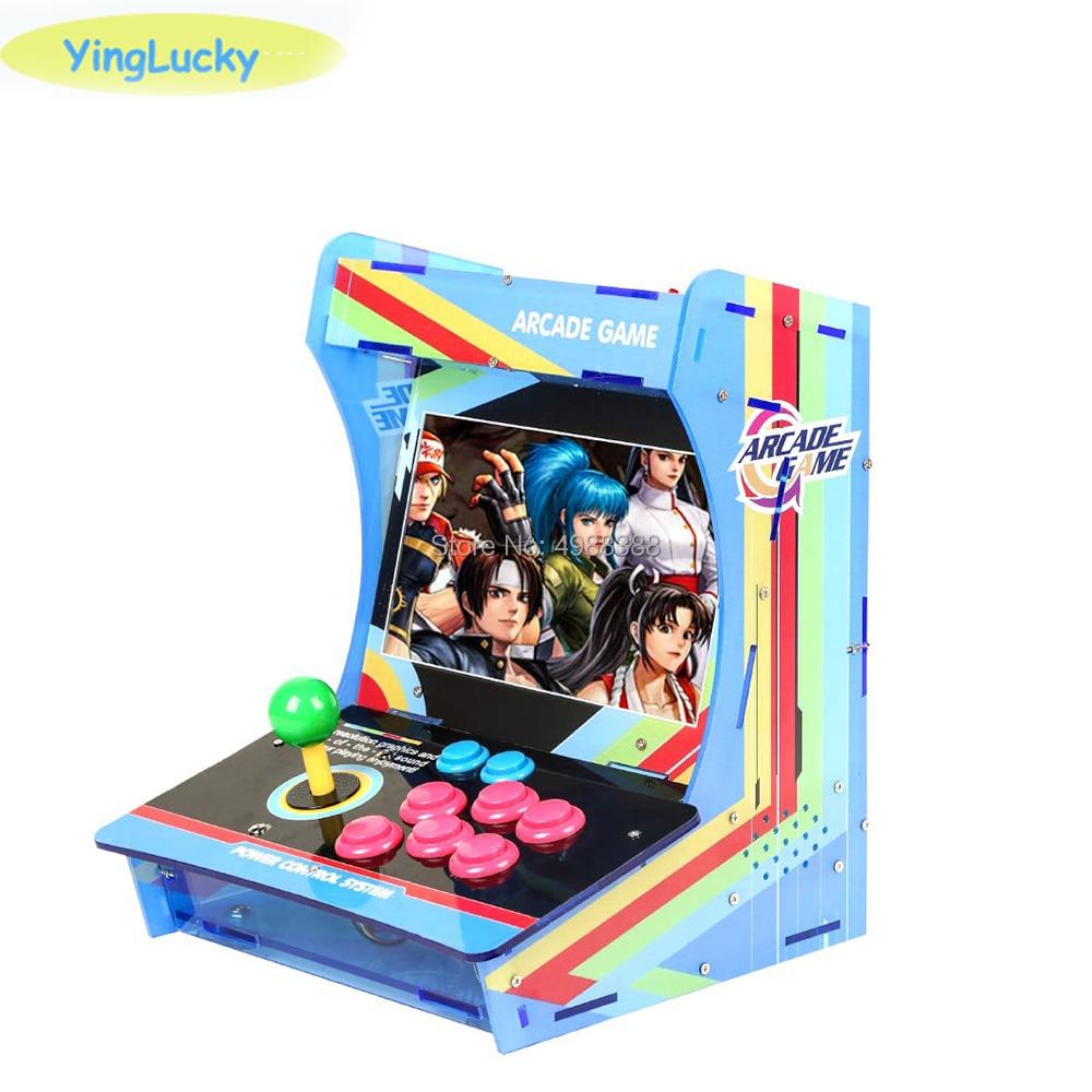 Arcade game bartop arcade mini arcade machine 10.1 inch Dual screen Built in Pandora Box 6s 1388 games