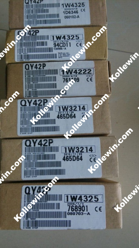 Q série MELSEC QY42P Module PLC, MODULE de sortie 64 points évier TRIAC OUT 0.1A 12/24VDC QY42P livraison gratuite