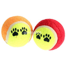 Practical Cute Pet Supplies Funny Dog Chew Toy Tennis Ball Great Run Fetch Throw Play Toys Funny