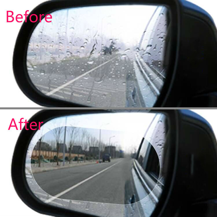 Car-Accessories Rearview-Mirror Rain-Cover Fords 3-Eyebrow Focus-2 Rainproof-Blades 2pcs