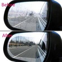 2 шт. автомобильные аксессуары, противотуманная пленка, зеркало заднего вида, непромокаемые Лезвия fords focus 2 3, покрытие от дождя для бровей, автомобильные аксессуары