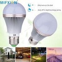 MIFXIN Autokinetic Sensor Light Bulb Light Control LED Light 5W 7W E27 Dusk To Dawn Auto