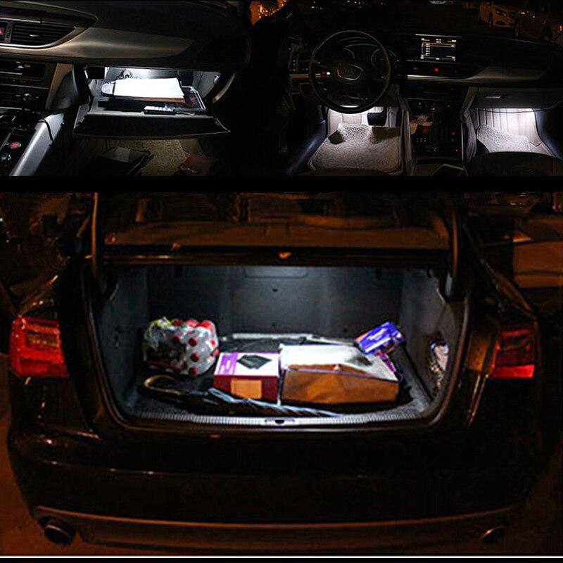 Car stying 17pc X canbus Error Free for Audi A4 S4 B8 sedan LED Interior Light Kit Package 2009 2010 2011 2012 11pc x canbus error free led interior light kit package for audi a6 s6 rs6 c6 quattro sedan 2005 2011 accessories lighting bulbs